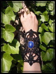 The Truthloving Mandala Bracelet by NagKanya on Etsy Throat Chakra, Psychic Abilities, Macrame Jewelry, Third Eye, Mandala, Jewellery, Bracelets, Etsy, Bangle Bracelets