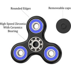 Toys & Games New The Anti-Anxiety 360 Spinner Helps Focusing Fidget Toy 3D Figit Kids Adults may 15 P30