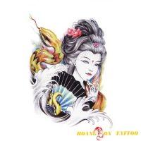 hình xăm geisha 50
