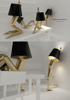 """At your command"" lamps for #nesthappyhomes"