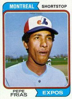 468 - Pepe Frias - Montreal Expos
