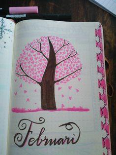 February spread #bulletjournal #bujo #bujocommunity #bujolovers #doodling