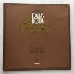 DALLAS HOLM & PRAISE LIVE VINYL 1977 GREENTREE RECORDS FREE SHIPPING LP R3441