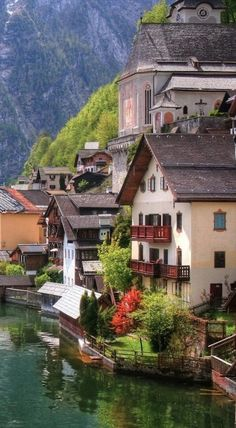 Hallstatt, Austria • photo:  danjeffayelles on Flickr