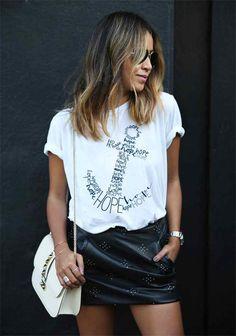 Hope Anchor Bayan Tişört. Yüzde yüz pamuklu tişörtlere, canlı ve renkli özel tasarım baskı uygulamaları. Tişört Krallığı The Chalcedon