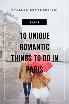 The most useful tips from locals about the romantic things to do in Paris on your first trip to the city of lights. Restaurants, places to see, it's all in. Romantic Things To Do, Romantic Photos, Girls Love Travel, Travel Couple, Paris Couple, Paris Tips, Photo Poses For Couples, Proposal Photographer, Paris Restaurants
