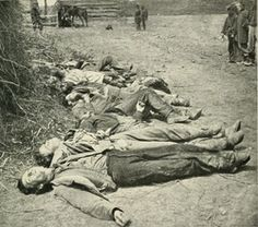 It truly was the rich man's war and the poor man's fight. ~ Ewell's Dead, Spotsylvania