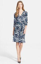 Diane von Furstenberg 'New Julian Two' Print Silk Jersey  Wrap Dress