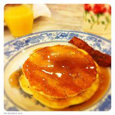 #pancakes #bacon #breakfast #blog #thedecadentmess #nashville #alabama