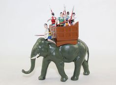 toy soldiers war elephant - Google Search
