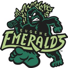 Eugene Emeralds 26 Of The Most Ridiculous Minor League Baseball Logos You'll Ever See King Kong, Lacrosse, Milb Teams, Baseball Teams, Baseball Stuff, Baseball Players, Baseball Field, Sports Team Logos, Sports Teams