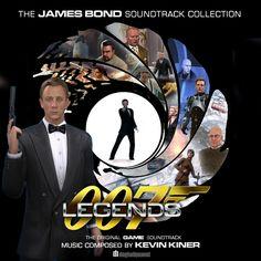 007 Legends Original Video Game Soundtrack by DogHollywood on DeviantArt James Bond Soundtrack, James Bond Movie Posters, James Bond Movies, Domino Table, Movie Talk, Roger Moore, Vinyl Cover, Lps, Stylish Men