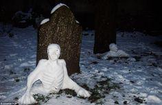 #snow #zombie