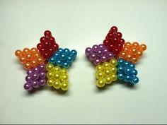 Kế ngôi sao năm cánh bằng hạt cườm: Five color star - YouTube
