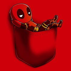 Is that a Deadpool in your pocket? Get the Deadpool Pocket t-shirt only at TeeTurtle! Marvel Wallpaper, Cartoon Wallpaper, Marvel Lights, Photographie Portrait Inspiration, T Shirt Painting, Cute Disney Wallpaper, Cute Chibi, Cute Pokemon, How Train Your Dragon