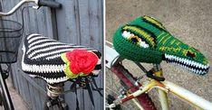 Gör din cykel redo för våren med ett virkat sadelskydd! Här får du mönstret till vår favorit | Land