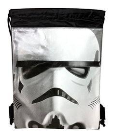 "Disney Star Wars ""The Force Awaken"" 10"" X 14"" Drawstring Backpack Heavy Duty Nylon Tote Bag Color"