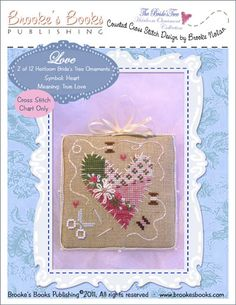 Bride's Tree cross-stitch ornament collection