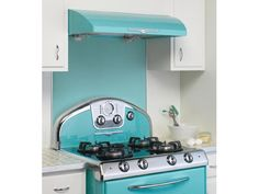 I believe this is rockin' ! See more of these new but retro -looking appliances in way cool colors @ PureWow.com