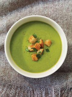 Ricardo's recipe : St-Germain Soup (Fresh Pea Soup)