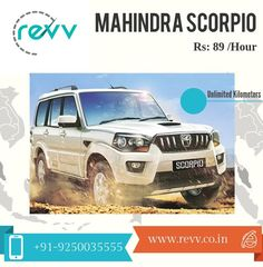 Feel The Power Of 4x4 In Mahindra Scorpio at Just Rs 89/Hour