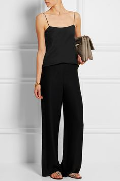 The Row | Biggins matte-satin camisole | NET-A-PORTER.COM