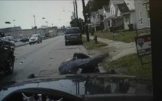 A police officer in Franklin, Ohio, was assisted by two bystanders after he became involved in a melee with a suspect