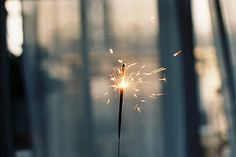 slight/major obsession with sparklers.