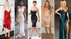Moda e Estilo - Slip dress – o vestido com ar de camisola de luxo invade as ruas