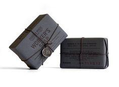 + Design de embalagem :     Embalagem para a marca de sabonete Worker's Soap, feito por Hovard Design.