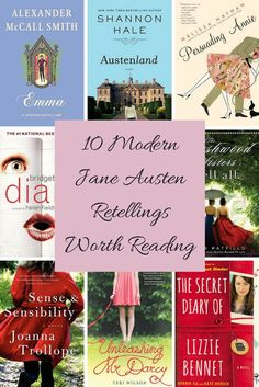 10 Lovely Modern Versions of Jane Austen Classics