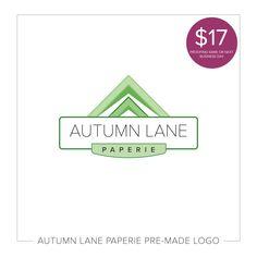Premade Logos by Autumn Lane Paperie Design Web, Brand Design, Logo Design, Graphic Design, Watercolor Logo, Star Logo, Wedding Logos, Corporate Design, Cool Logo