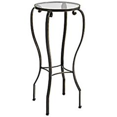 Chaska end table -- pier one.