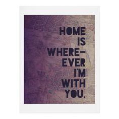 Leah Flores With You Art Print | DENY Designs Home Accessories