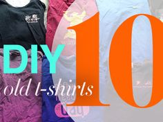 DIY: 10 Things To Do With an Old T-shirt via @ecosalon