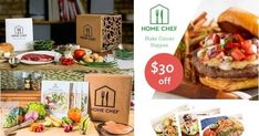 Home Chef Meal Kits include fresh foods, spices, and recipe cards.oid a trip to the grocery store and have dinner ready usually within the hour and sometimes in 30 minutes Best Meal Delivery, Meal Delivery Service, Home Meals, Home Chef, How To Cook Steak, Meals For The Week, Food Preparation, No Cook Meals, Meal Planning