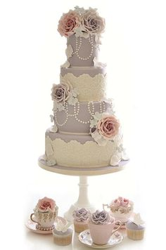 Romantic Wedding Cakes, Wedding Cake Ideas, Inspiration, Wedding Cake Designs || Colin Cowie Weddings
