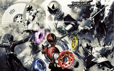 Samurai Sentai Shinkenger Wallpaper by ShoguN86 on DeviantArt