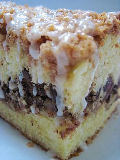 Hot Milk Cake Coffeecake...old, old recipe for the best coffee cake you have ever had! This recipe is so hot on Pinterest right now! We have to try it!!