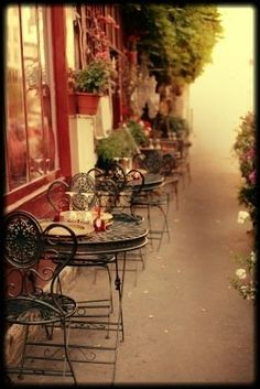 """Paris cafés are at least as famous as the Eiffel Tower... To enjoy a Paris café fully, you must understand the rules of café culture"" ▪ Sit, sip & take your time~to chat, people-watch, read or write, without rushing!!  Americans should take note of this!!"
