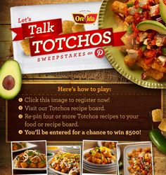 Enter for your chance to win $500 – here's how to play...will definitely try Totchos for dinner tonight!