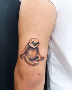 minimal tattoo  tattoo designs sloth tattoo  colorsloth  animals tattoo