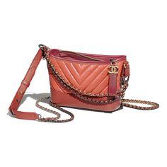 7e16cd6bc75e CHANEL'S GABRIELLE Small Hobo Bag - Orange, dark red & red - Aged  Calfskin