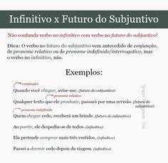 infinitivo futuro do subjuntivo