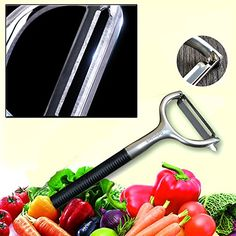 Vegetable Peeler - The DefenderX Best Y Shape For Vegetab…