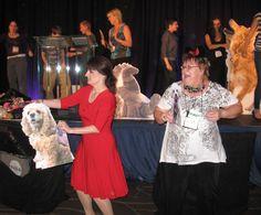 Peeps and pups shake it at the #blogpawty