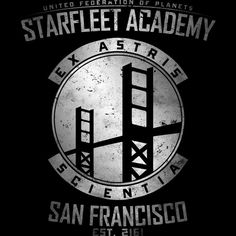 Starfleet Academy is a T Shirt designed by Alecxps to illustrate your life  and is available 1b8eb930bf