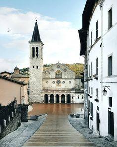 """Umbrian treasures // #Spoleto"""