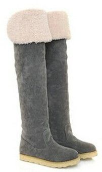 2015 Winter fashion new long models snow boots lady boats knee boots heavy-bottomed shoes female boots in tube ladies booties