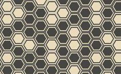 Popham Design honeycomb hex tiles